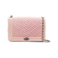 Marc Ellis Daphne Quilted Shoulder Bag - Rosa