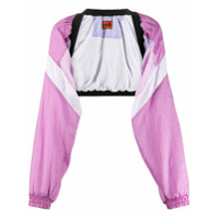 Colville Colour Block Cropped Jacket - Rosa