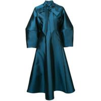 Greta Constantine Vestido Midi Oversized - Azul