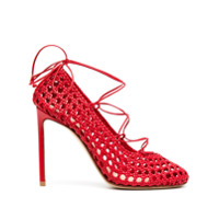 Francesco Russo Sapato Com Salto 110Mm - Vermelho