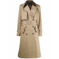 Eudon Choi Trench Coat Bicolor - Neutro