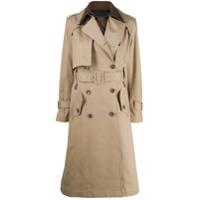 Eudon Choi Trench Coat Bicolor - Neutro