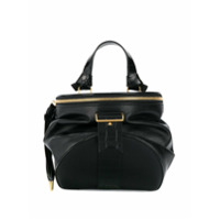 Bally Round Shaped Backpack - Preto