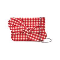 Loeffler Randall Cecily Bow Cutch Bag - Vermelho