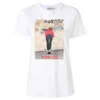 Fiorucci Camiseta Com Estampa - Branco