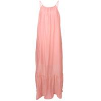 Semicouture Vestido Com Alças Finas - Rosa