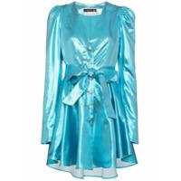 Rotate Vestido Lamé Emma - Azul