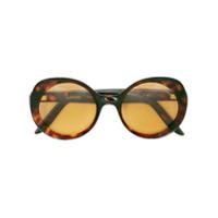 Lapima Óculos De Sol Redondo - Marrom