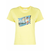 See By Chloé Camiseta Com Estampa De Logo Gráfico - Amarelo