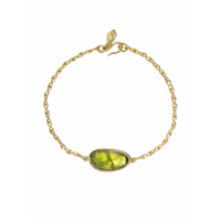 Pippa Small Pulseira De Ouro 18K Com Peridoto - Dourado