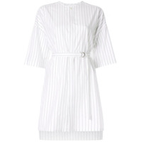 Ujoh Camisa Listrada - Branco