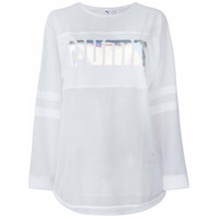 Puma X Sophia Webster Blusa Com Logo - Branco