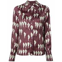 Jill Stuart Camisa Com Estampa 'electra' - Vermelho