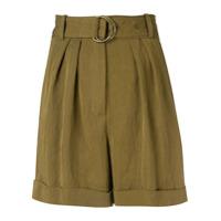 Masscob Olive Casual Shorts - Green