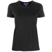 Ralph Lauren Collection Plain Short Sleeve T-Shirt - Preto