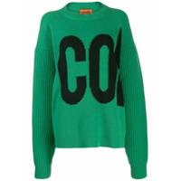 Colville Suéter Com Logo Bordado - Verde