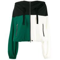 Colville Colour-Block Jacket - Preto