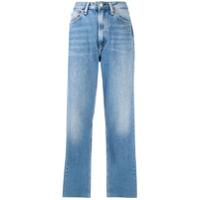 Rag & Bone Calça Jeans Reta Ruth Cintura Alta - Azul