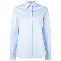 Lanvin Camisa Com Bolso - Azul