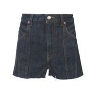 Givenchy Short Jeans Clássico - Azul