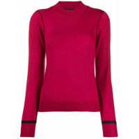 Armani Exchange Fine Knit Sweater - Rosa