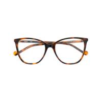 Liu Jo Armação Para Óculos Gatinho - Marrom