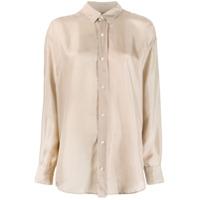 Katharine Hamnett London Nicola Silk Shirt - Neutro
