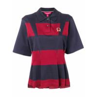 Hilfiger Collection Camisa Polo Com Pregas - Azul