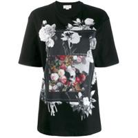 Alexander Mcqueen Skull Print T-Shirt - Preto