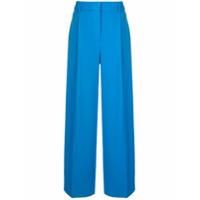 Victoria Victoria Beckham Calça Pantalona - Azul