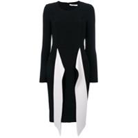 Givenchy Vestido Com Contraste - Preto
