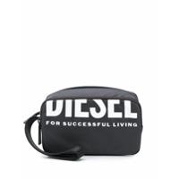 Diesel Necessaire Com Estampa De Logo - Preto