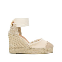 Castañer Catalina Wedge Espadrilles - Neutro