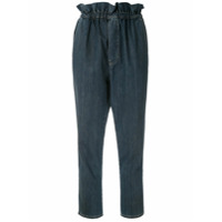 Framed Calça Jeans Cozy Clochard Cropped - Azul