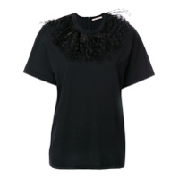 Christopher Kane Camiseta Mangas Curtas - Preto