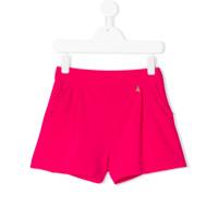 Patrizia Pepe Junior Shorts Com Bolsos - Rosa