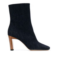 Wandler Ankle Boot Isa Jeans - Azul