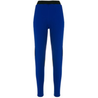 Koché Calça Slim Color Block - Azul