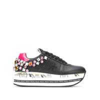Premiata Beth Gemstone Sneakers - Preto