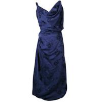 Vivienne Westwood Vestido Assimétrico - Azul
