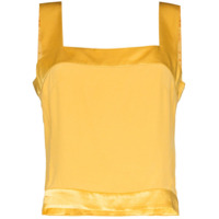 Usisi Sister Blusa Gail Decote Quadrado - Amarelo