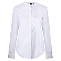 Aspesi Camisa Sem Colarinho - Branco