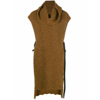 Uma Wang Suéter Gola Alta - Marrom