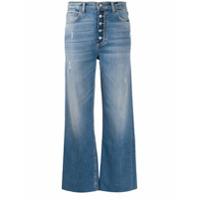 Boyish Jeans Calça Jeans Cropped Cintura Alta - Azul
