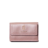 Marc Jacobs Carteira The Softshot Pearlized Mini - Rosa