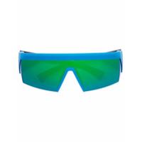 Mykita Óculos De Sol 'lateral Green Flash (Fcx)' - Azul