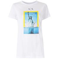 Armani Exchange T-Shirt Com Estampa - Branco