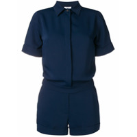 P.a.r.o.s.h. Short-Sleeved Playsuit - Azul