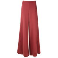 Alcaçuz Calça Pantalona Marajo - Vermelho