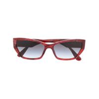 Dolce & Gabbana Eyewear Óculos De Sol Gatinho - Vermelho